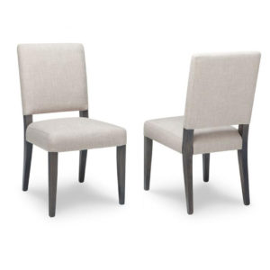 fully upholstered portland fabric parsons chair