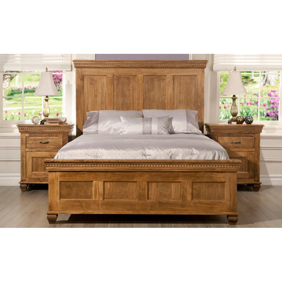 Provence Bedroom, cherry, distressed, made in canada, maple, master bedroom, oak, rustic, solid wood, handstone, modern, rustic, straight lines, blocky, unique, modern, amish style furniture, contemporary, handmade, rustic, distressed, simple, customizable, Solid Rustic Maple, bedroom ideas, Provence Bedroom A, Provence