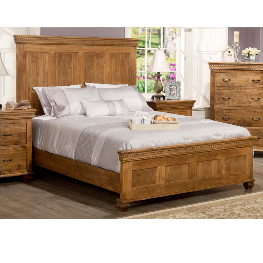 Provence Bedroom, cherry, distressed, made in canada, maple, master bedroom, oak, rustic, solid wood, handstone, modern, rustic, straight lines, blocky, unique, modern, amish style furniture, contemporary, handmade, rustic, distressed, simple, customizable, Solid Rustic Maple, bedroom ideas, Provence