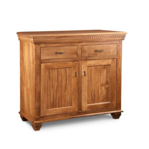 Provence small sideboard, small sideboard, small furniture, dining room, cabinets, storage cabinets, cherry, contemporary, custom cabinets, distressed , handstone, made in Canada, made to order, Maple ,Modern oak solid wood furniture