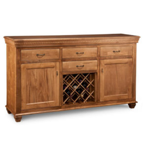 Provence Wine Sideboard, Provence, Wine Sideboard, Dining Room, Cabinets, Wine Cabinets, bar, cherry, contemporary, custom cabinet, distressed, handstone, liquor, made in canada, made to order, maple, modern, oak, solid wood, kitchen ideas, kitchen furniture, amish style furniture, contemporary, handmade, rustic, distressed, Wine, Sideboard