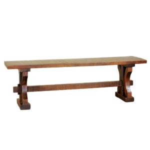 solid wood bench, rustic wood bench, custom built bench, canadian made bench, ruff sawn bench, rustic carlisle bench