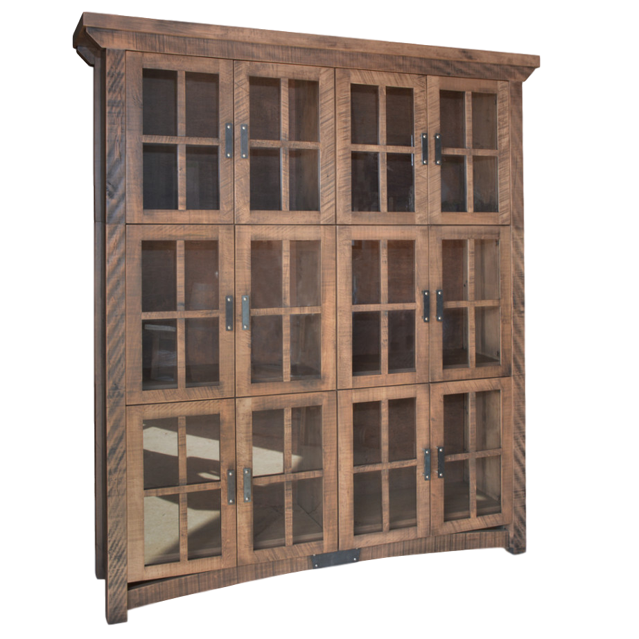 Rustic Carlisle Wall Cabinet Home Envy Furnishings