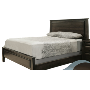 solid wood seymour bed with low footboard