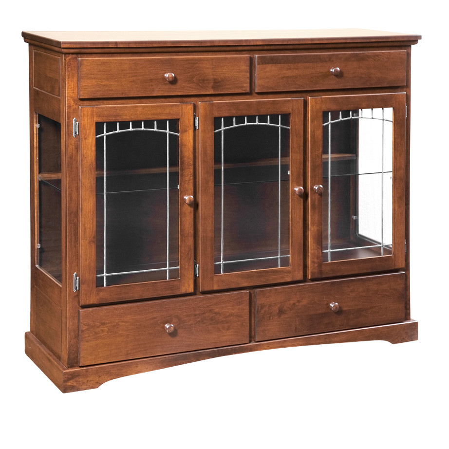 Shaker 3 Door Dining Chest - Home Envy Furnishings: Solid ...