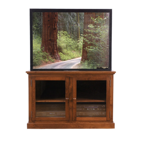 made in canada 2 door shaker tv console stand