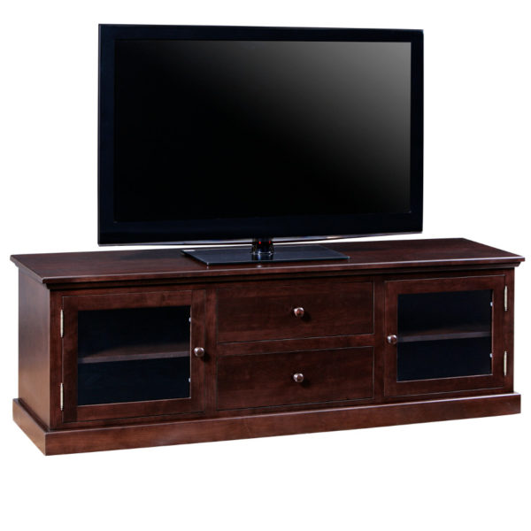locally made in canada shaker tv console for large tv
