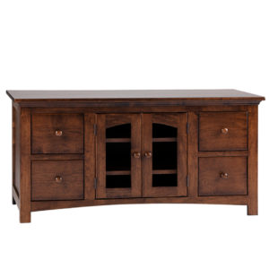 Shaker 48 Arched door Tv console A Shaker Tapered leg console , small tv console, TV unit small, small furniture, made in Canada, solid wood furniture