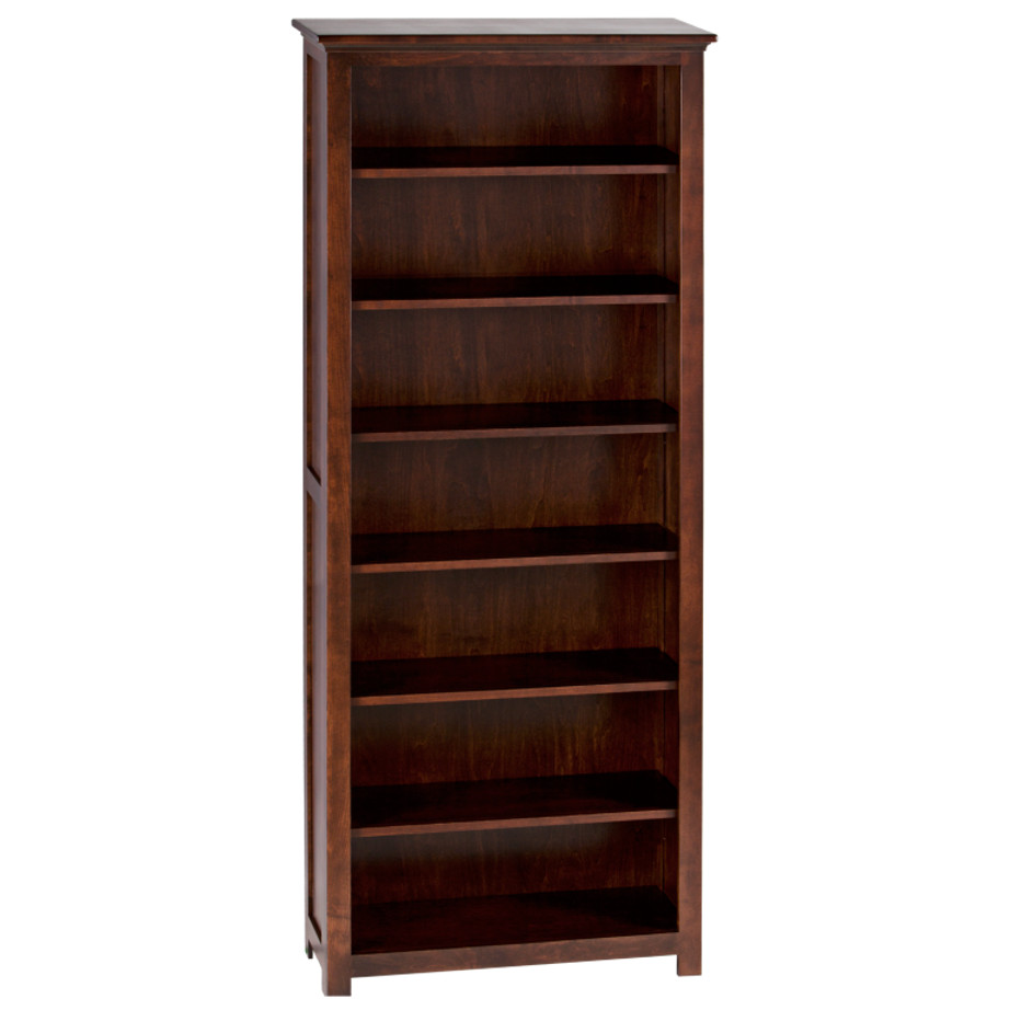 custom built in canada shaker bookcase