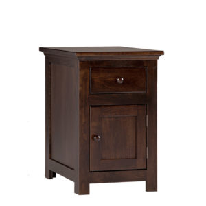Shaker Storage end table, end table, solid end table