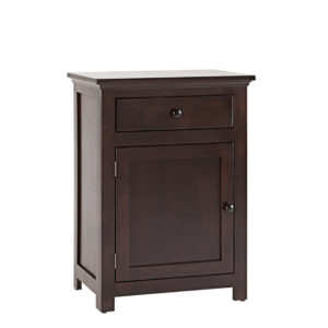 shaker half hall dresser, Shaker one door hall table, Small hall table,shaker table, one door one drawer table, made in Canada.