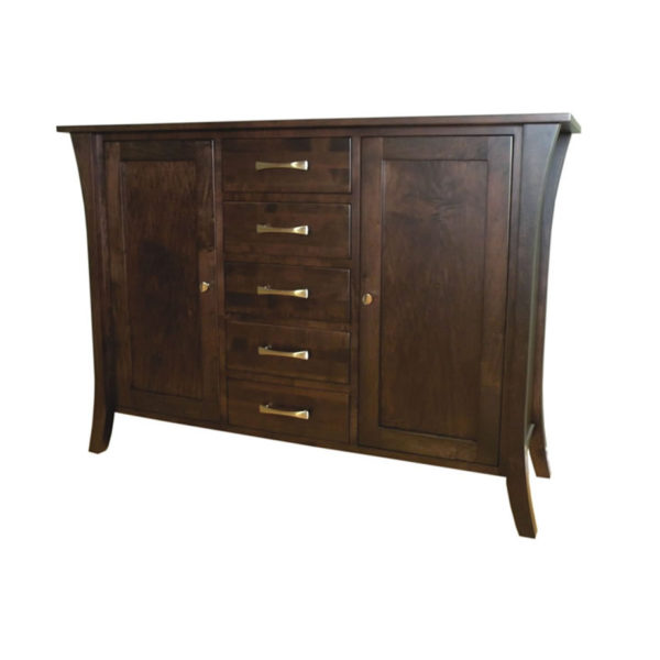 silhouette sideboard, dining room, dining cabinet, custom, custom furniture, custom built, solid wood, wood, solid maple, solid oak, maple, oak, sideboard, storage ideas
