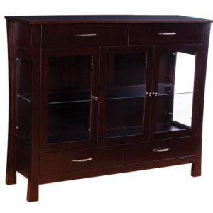 Soho 3 Door Dining Chest, Dining room, dining room furniture, occasional, occasional furniture, solid wood, solid oak, solid maple, custom, custom furniture, storage, storage ideas, dining cabinet, sideboard