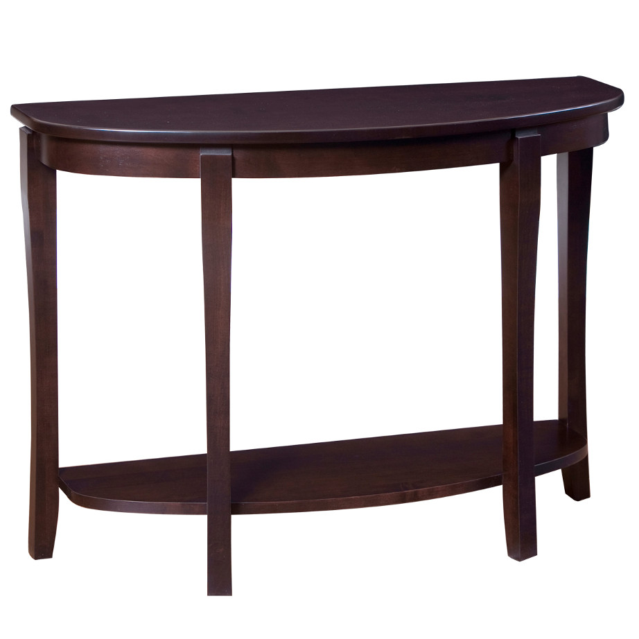 Soho Half Moon Sofa Table Home Envy Furnishings Solid