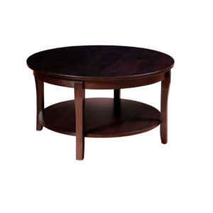 Soho Round Coffee Table, living room, living room furniture, occasional, occasional furniture, solid wood, solid oak, solid maple, custom, custom furniture, storage, storage ideas, coffee table, soho coffee table