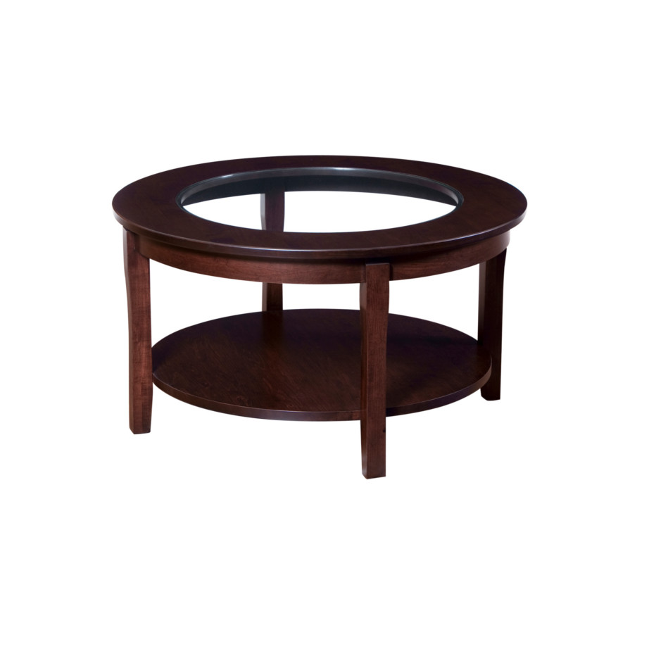 Soho Coffee Table With Glass Top Home Envy Furnishings Solid Wood Furniture Store
