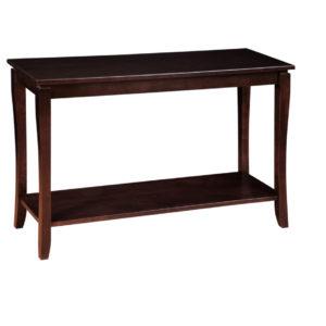 Soho Sofa Table, living room, living room furniture, occasional, occasional furniture, sofa table, solid wood, solid oak, solid maple, custom, custom furniture, storage, storage ideas