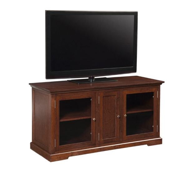 locally made solid wood stanford tv console in maple