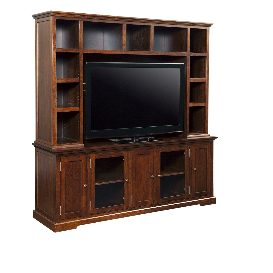 Stanford 83 Wall Unit Home Envy Furnishings Solid Wood