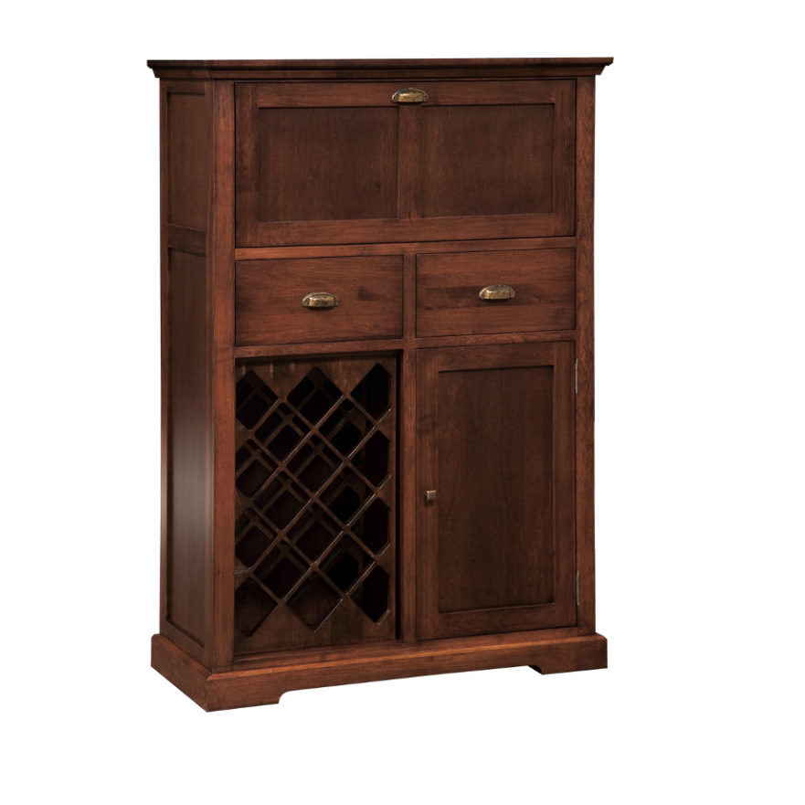 Stanford Bar Cabinet Home Envy Furnishings Solid Wood