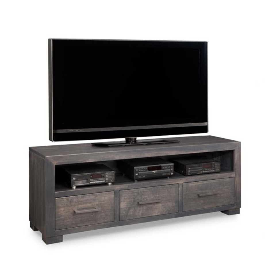 Steel city tv console home envy furnishings solid