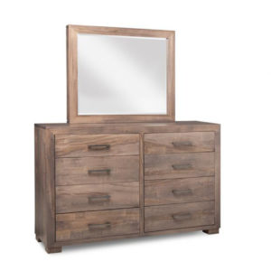 mennonite made in canada steel city dresser with optional mirror
