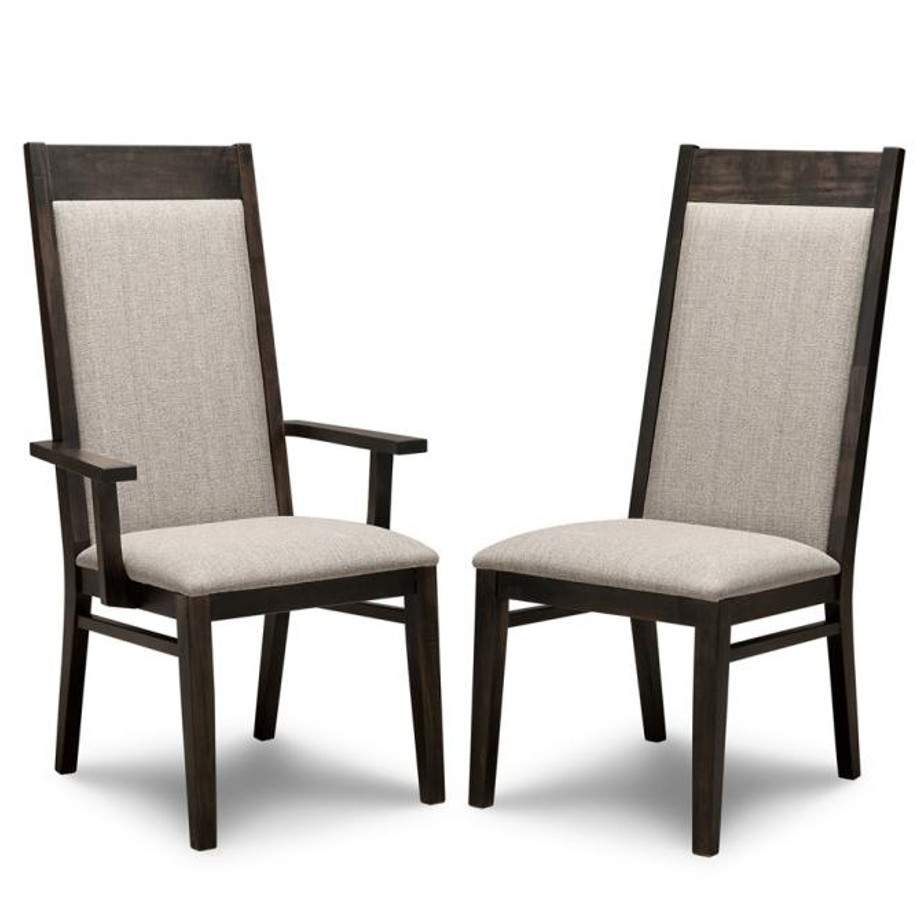 Steel Dining Chairs ~ Steel city dining chair home envy furnishings solid