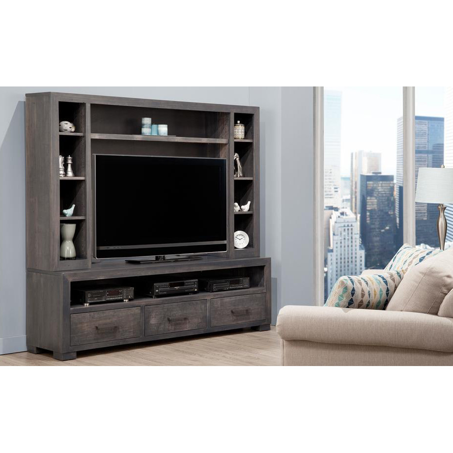 Steel City Wall Unit Home Envy Furnishings Solid Wood