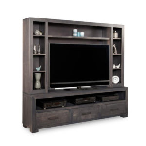 Entertainment, TV Consoles, contemporary, custom cabinet, HDTV, made in canada, maple, modern, oak, rustic, solid wood, tv, other Sizes Available, Glass, Simple, Living Room, Studio TV Console, storage ideas, custom, wall unit, steel city