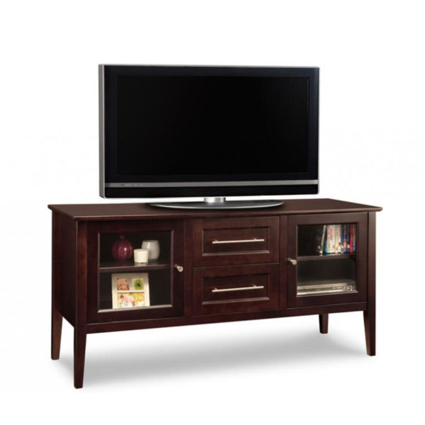 """solid wood canadian made stockholm tv stand in custom 60"""" size"""