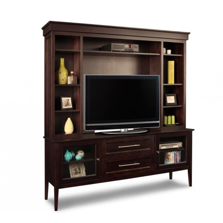 Stockholm Wall Unit Home Envy Furnishings Solid Wood