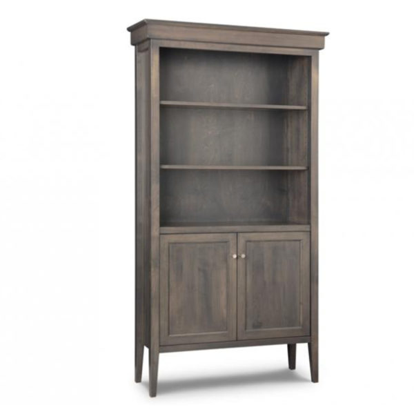 made in canada mennonite craftsman ship stockholm bookcase with doors