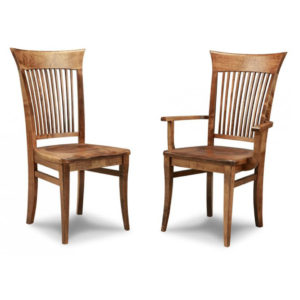 made in canada solid wood stockholm modern dining chairs