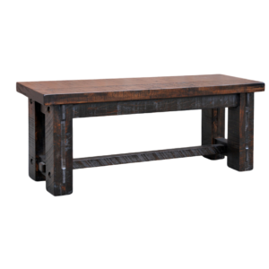 solid wood dining bench, ruff sawn dining bench, timber bench, rustic bench