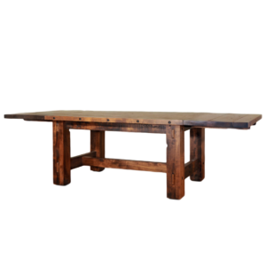 made in canada timber large dining table with legs and leaves