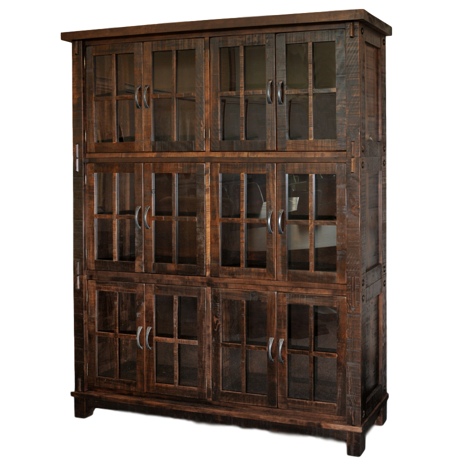 Timber Wall Cabinet Home Envy Furnishings Solid Wood
