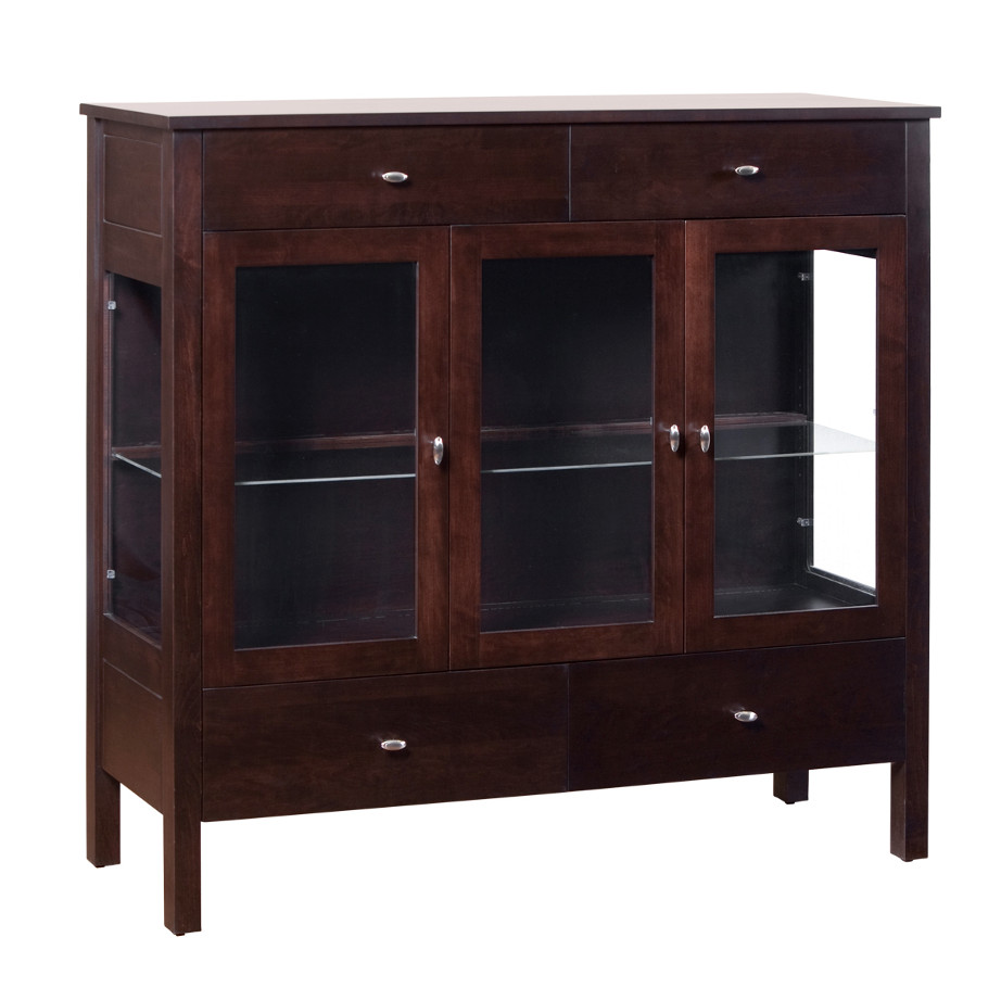 Home Envy Furnishings Solid: Yaletown 3 Door Dining Chest
