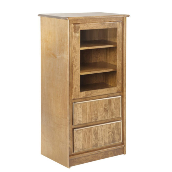 hand made in canada in solid wood galiano night stand