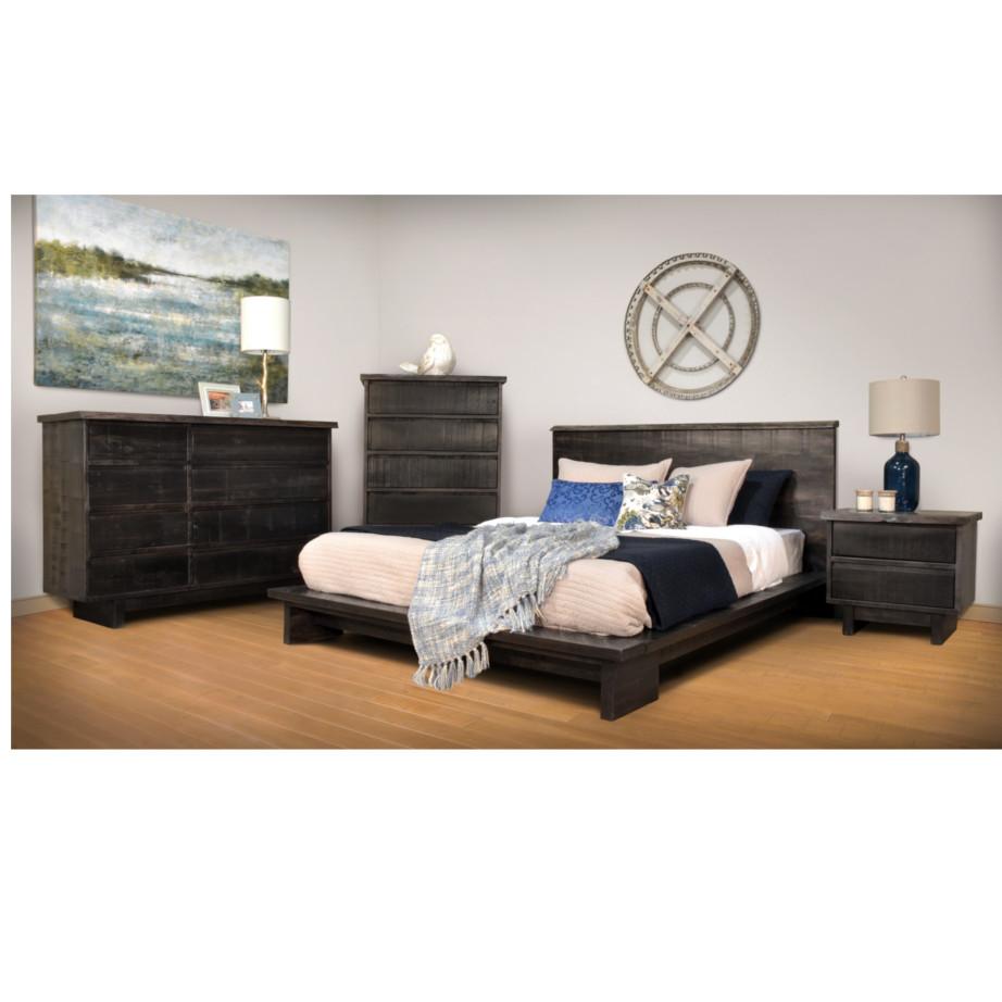 modern rustic wood modelli bedroom suite