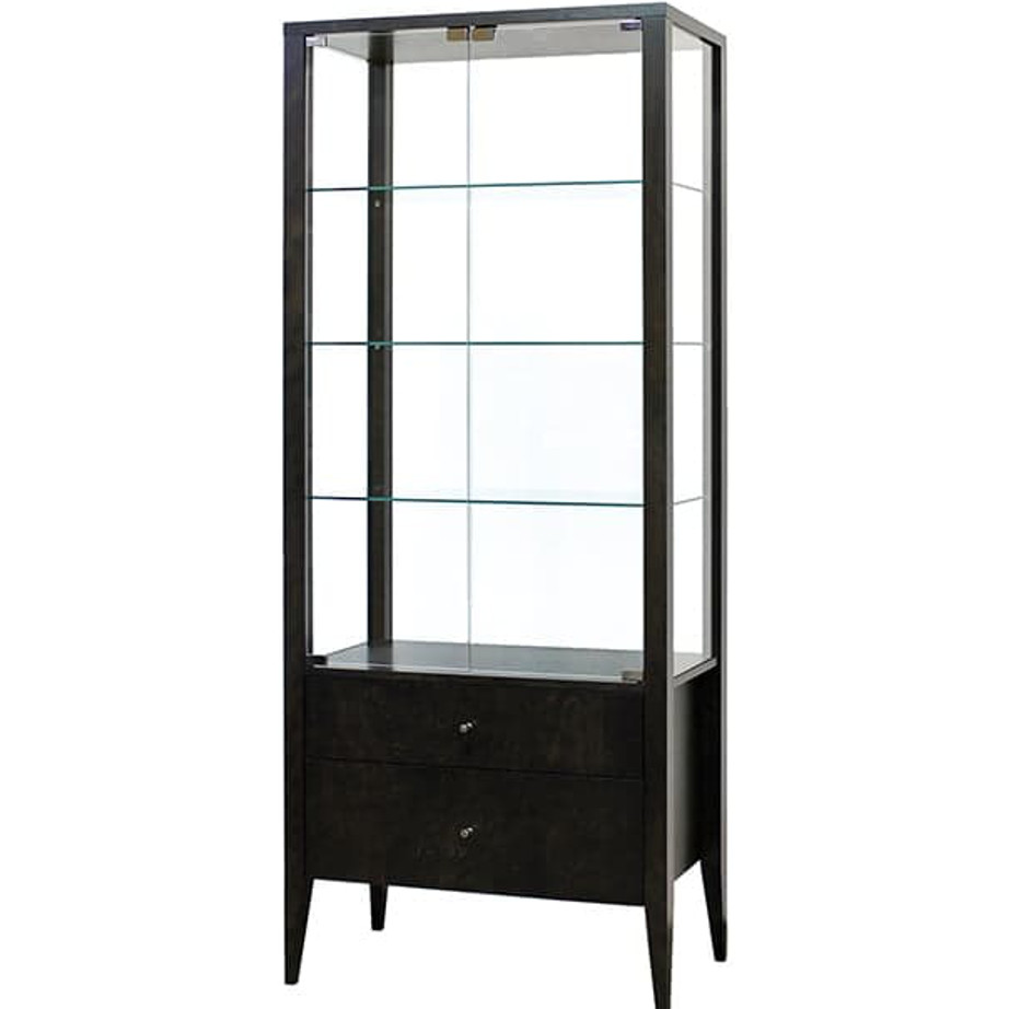 Alex Display Cabinet Home Envy Furnishings Solid Wood