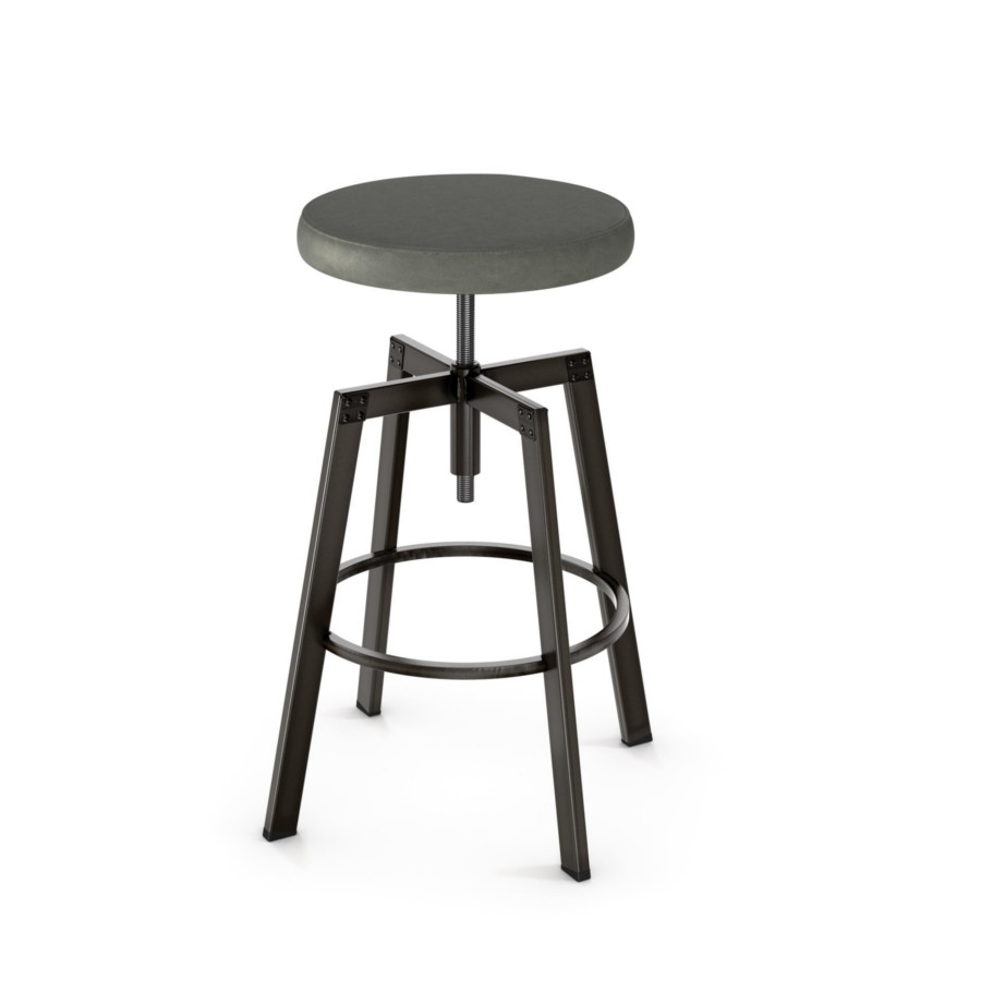 Architect Backless Stool Home Envy Furnishings Solid