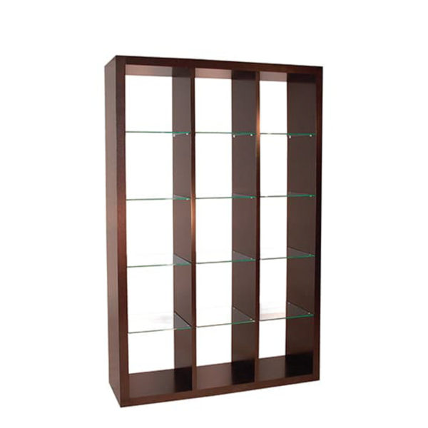 Biko Bookcase, Home Office, Bookcases, Accents, Accent Furniture, birch, contemporary, display, made in canada, mid-century, modern, shelf, shelving, solid wood, walnut, VerBois, living room furniture ideas, custom made, solid wood furniture