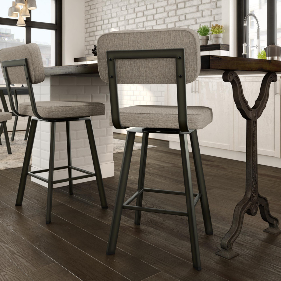 Brixton Swivel Stool Home Envy Furnishings Solid Wood