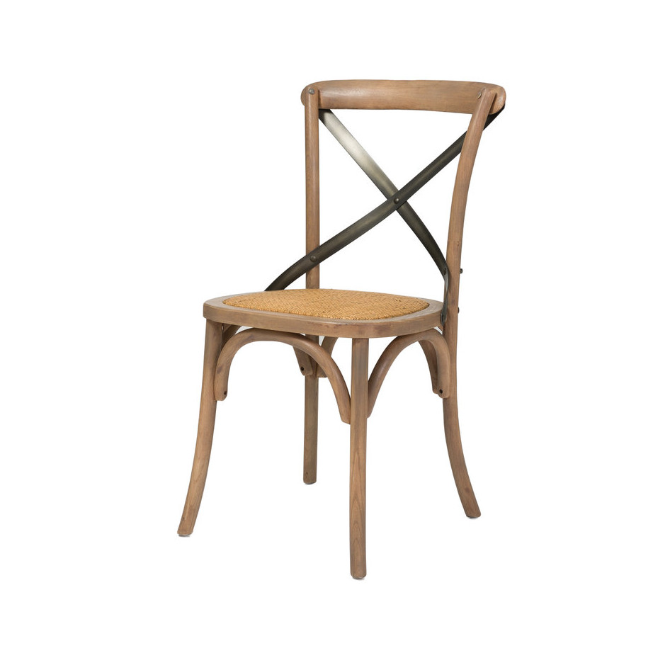 cross back dining chair home envy furnishings solid wood furniture store. Black Bedroom Furniture Sets. Home Design Ideas