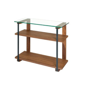 Living Room, Occasional, Sofa Tables, Accents, Accent Furniture, birch, console, contemporary, custom table, entry way, hall table, made in canada, mid century, modern, solid wood, walnut, living room ideas, console, VerBois, Diaz Sofa Table, glass