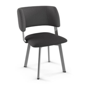 amisco easton dining chair with fabric seat and back