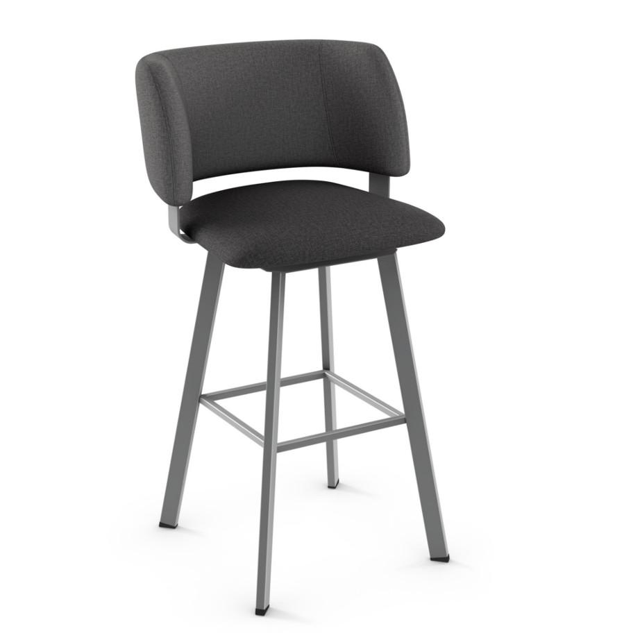 Easton Upholstered Stool Home Envy Furnishings Solid