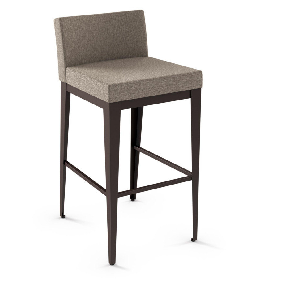 Ethan Upholstered Stool Home Envy Furnishings Solid