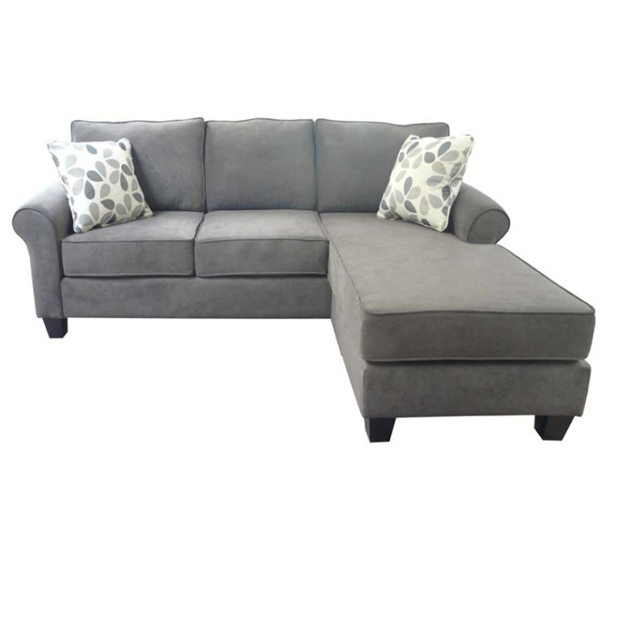 flip sofa with chaise home envy furnishings canadian. Black Bedroom Furniture Sets. Home Design Ideas