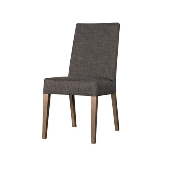 canadian made parsons chair with custom fabric genie dining chair